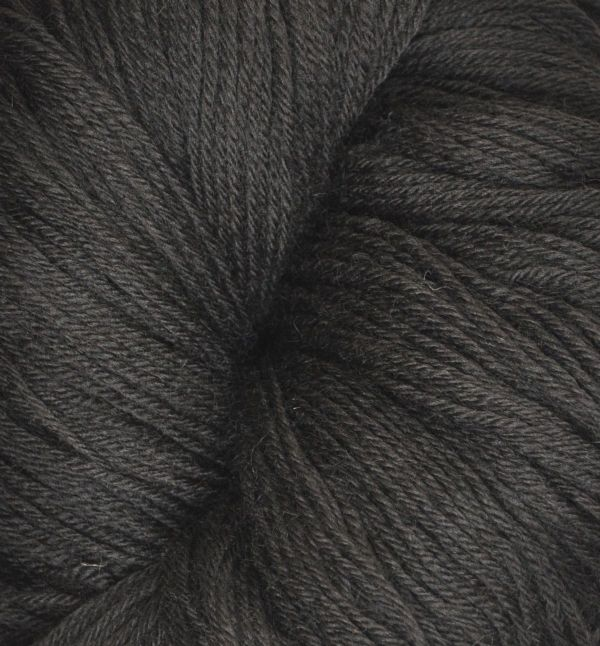 100% Wool skeins dark chocolate double knit X10 approx 250g